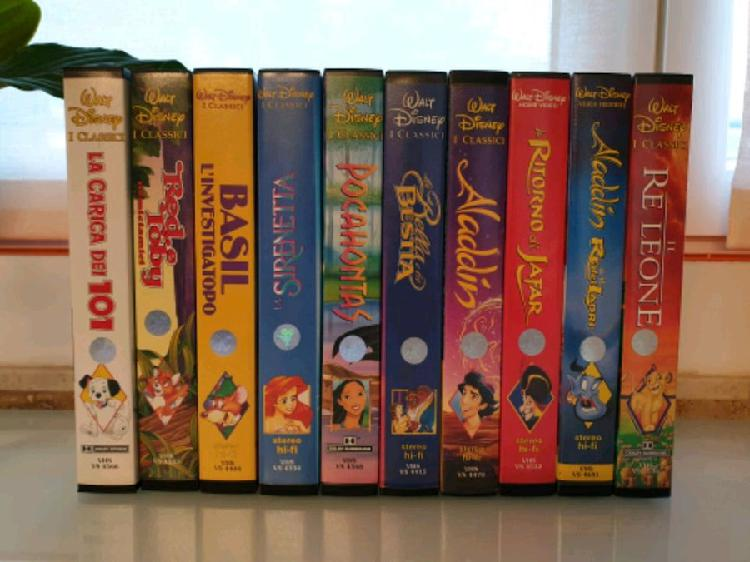 10 videocassette vhs disney_2