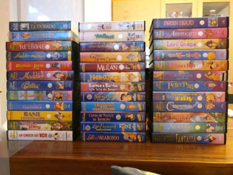 36 videocassette vhs disney
