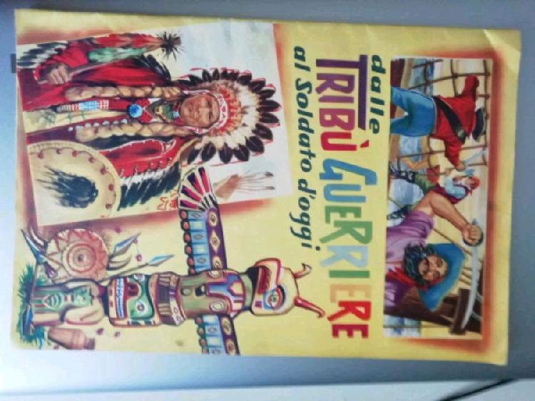 Album figurine tribù del mondo anni 60