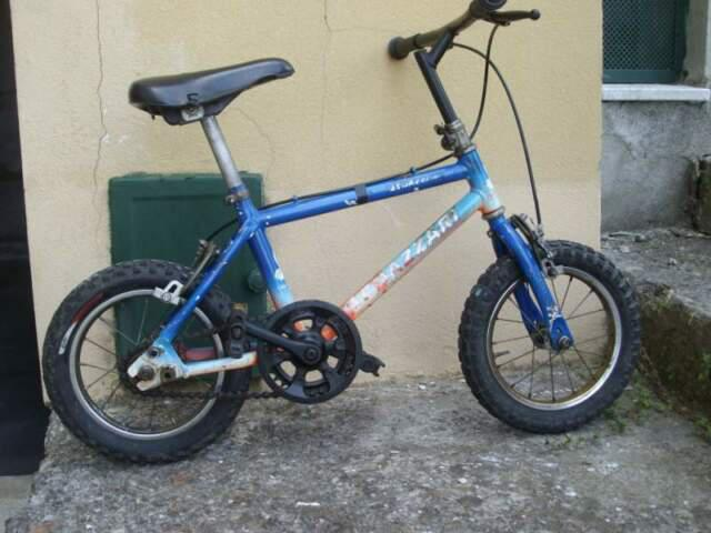 Bici azzari per bimbo 3/6 anni.