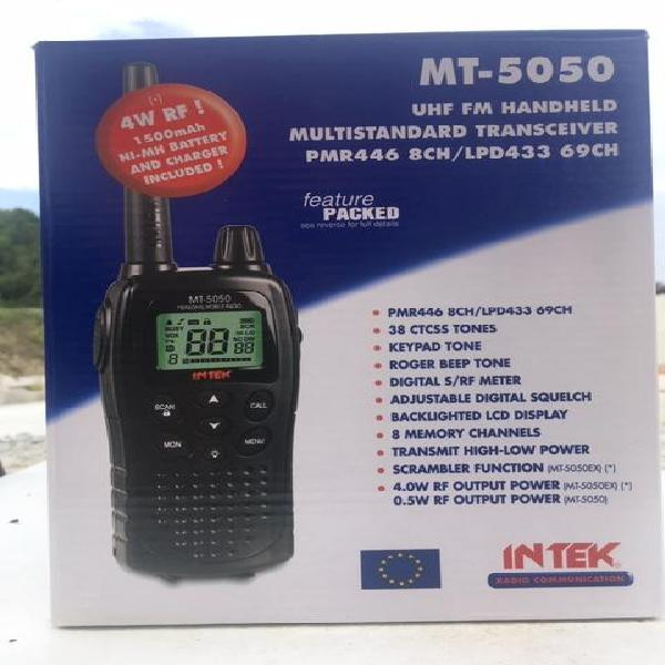 Coppia intek mt-5050 ricetrasmittente dual band