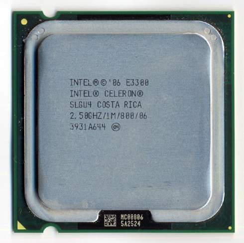 Cpu processore intel celeron dual core e3300 2.5 ghz socket