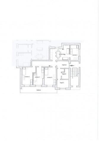 Casa indipendente di 120 m² con 4 locali in affitto a pavia