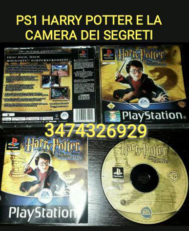 Gioco ps1 harry potter e la camera dei segreti pal ita