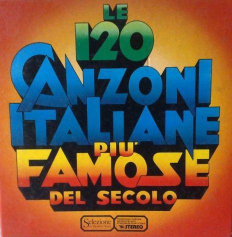 Le 120 canzoni piu' famose del mondo - cofanetto 10 dischi