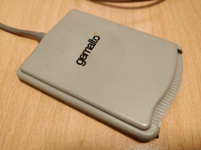 Lettore smart card gemalto pc usb-sl reader