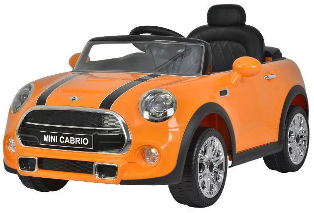 Macchina elettrica per bambini 12v mini cooper cabrio