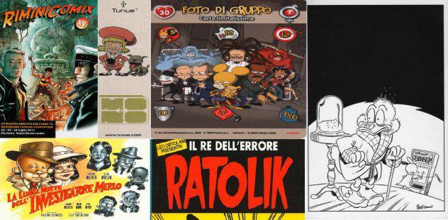 Ratman rarità e particolarità cartoline gioco di carte