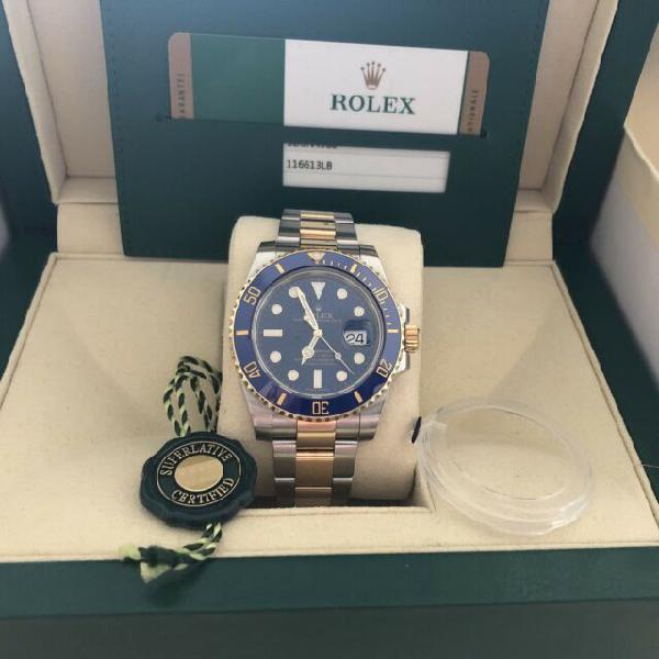 Rolex submariner acciaio oro ceramica full
