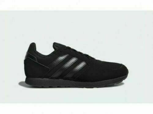 Scarpe adidas uomo 8k f36889 nero total black sneakers