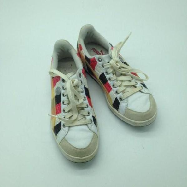 scarpe basse puma bianca donna