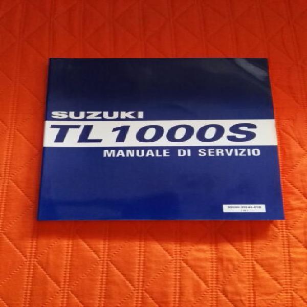 Suzuki tl 1000 s 97>01 manuale di servizio in italiano