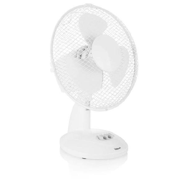 Tristar ventilatore da tavolo ve-5923 20 w 23 cm bianco