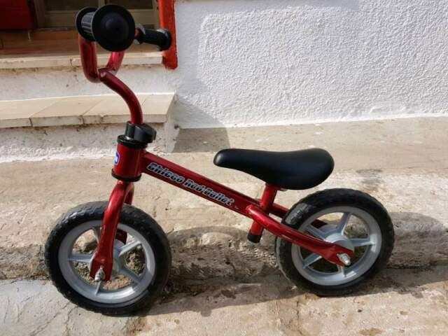 Vendo bici per bambino della chicco principianti