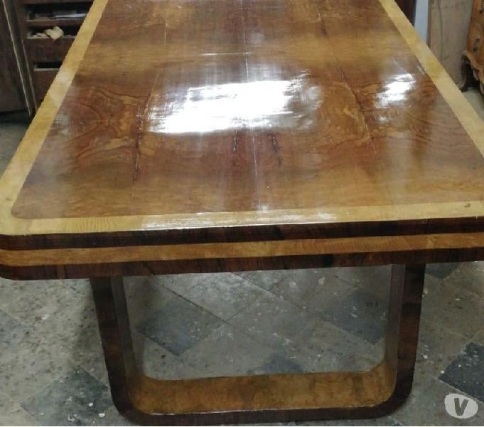 Vendo tavolo decò restaurato