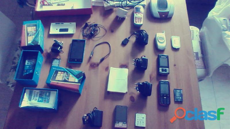Blocco cellulari usati di diverse marche