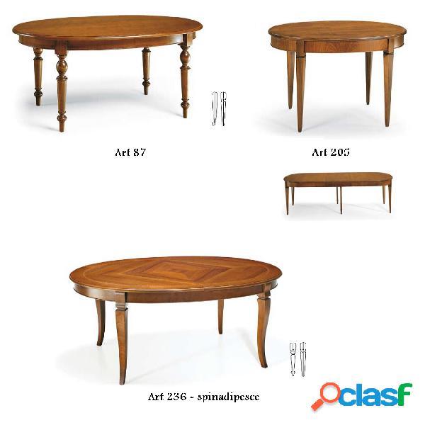 Tavolo ovale art prestige