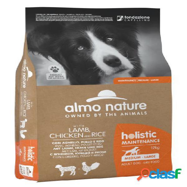 Almo nature cane holistic eco kg 12 agnello pollo riso