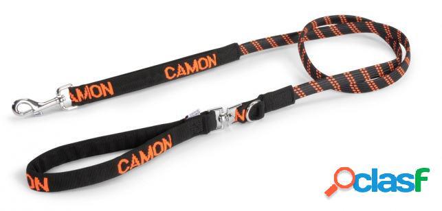 Camon guinzaglio conduzione elastico 20 x 1500 arancio