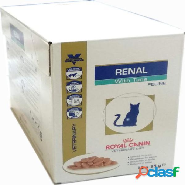 Royal canin diet gatto 12 x 85 gr renal tonno