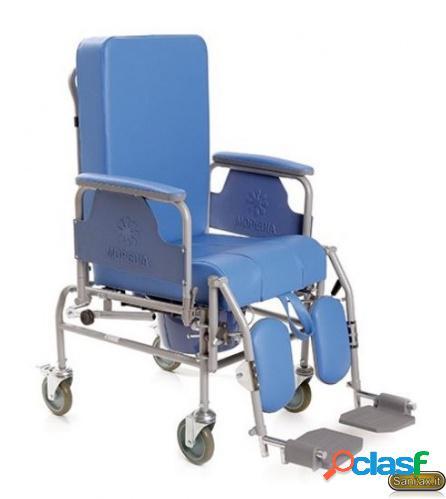 Sedia comoda con schienale reclinabile - Moretti Mopedia RC225