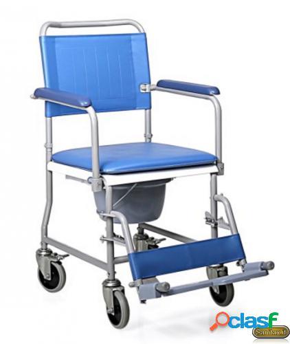 Sedia comoda pieghevole con wc - Moretti Mopedia RC220