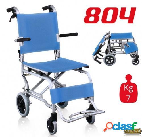 Surace 804 carrozzina leggera - sedia pieghevole da transito in alluminio
