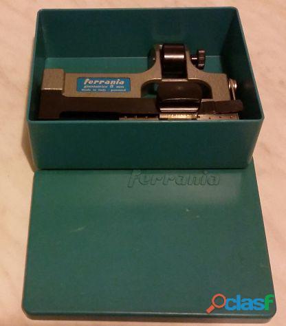 Giuntatrice a nastro Ferrania 8mm Made in Italy con scatola nuova