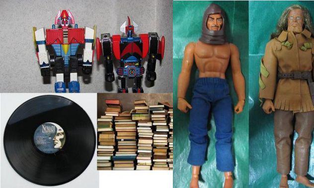 Acquisto per max valutazione libri, dischi, giocattoli anni