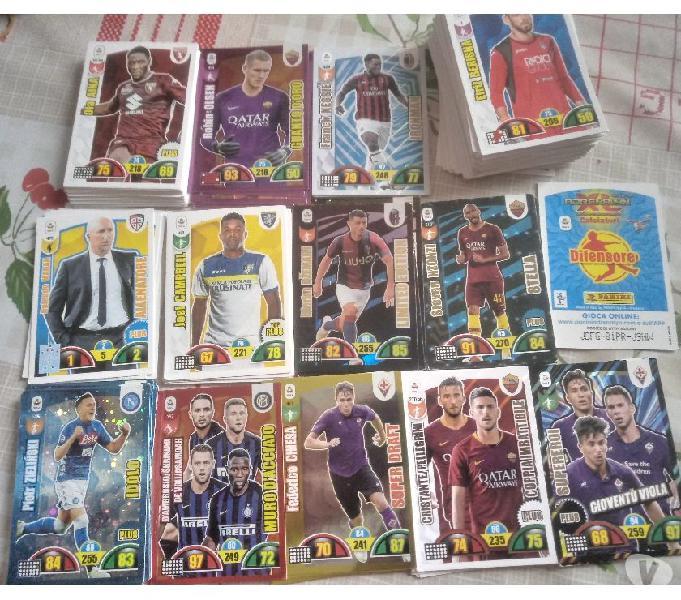 Carte calciatori panini 1998, 2004, 2016 17 18 19