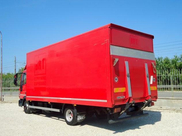 Iveco eurocargo 75e16 euro 4 furgone + pedana rif. 11967296