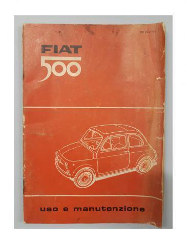 Libretto uso e manutenzione fiat 500