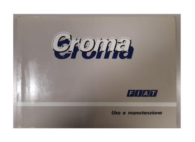 Libretto uso e manutenzione fiat croma 1989