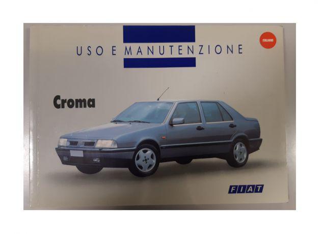 Libretto uso e manutenzione fiat croma 1993