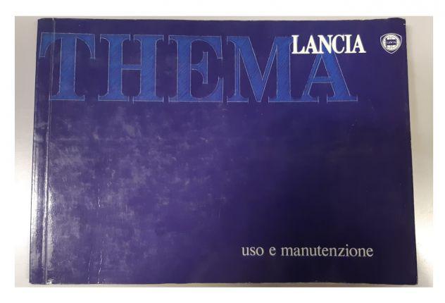 Libretto uso e manutenzione lancia thema in italiano 1989