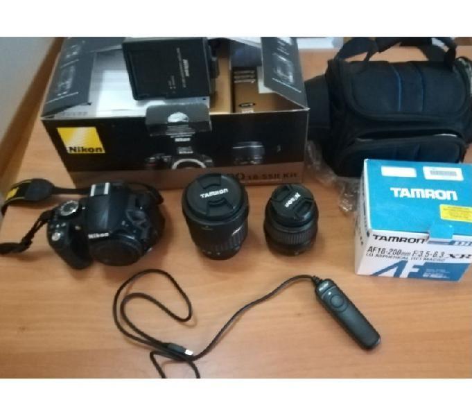 Macchina fotografica reflex nikon d3100