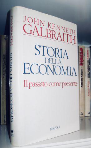Storia della economia - il passato come presente