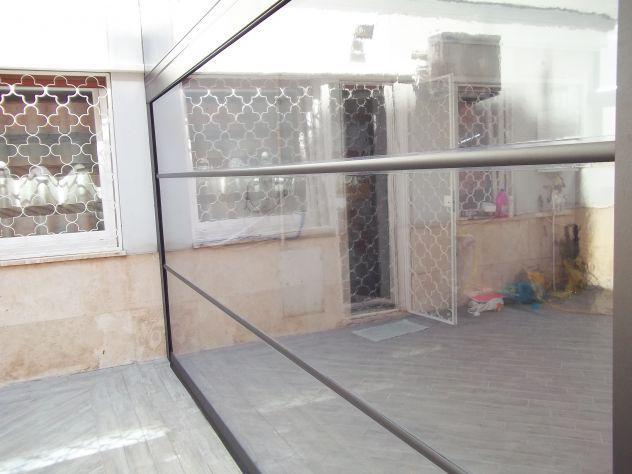 Tende trasparenti per chiusura balconi