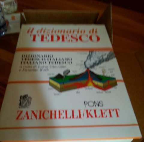 Dizionario italiano/tedesco zanichelli