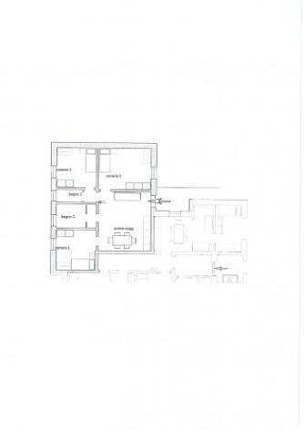 Casa indipendente di 90 m² con 3 locali in affitto a pavia