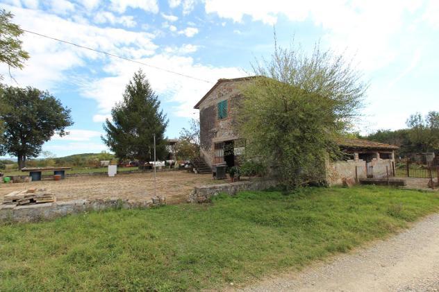 Porzione di casa in vendita a Monteriggioni 350 mq Rif:
