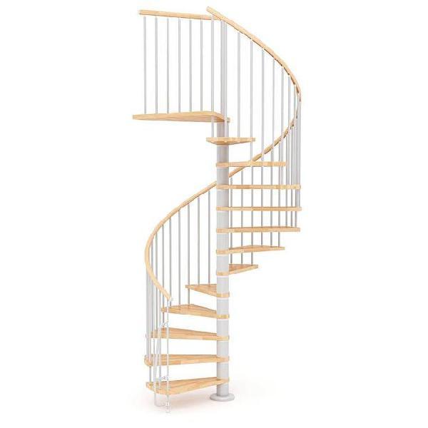 Scala a chiocciola in legno 㸠160 cm 12 scalini mobirolo