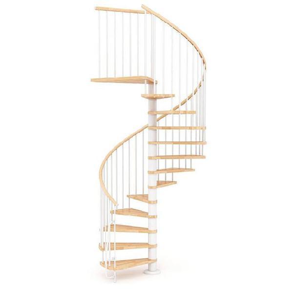 Scala a chiocciola in legno 㸠160 cm 16 scalini mobirolo