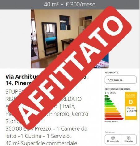 Appartamento di 40 m² con 2 locali in affitto a pinerolo