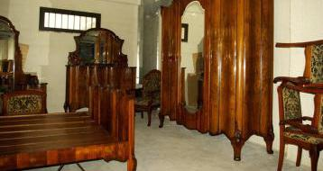Camera da letto antica