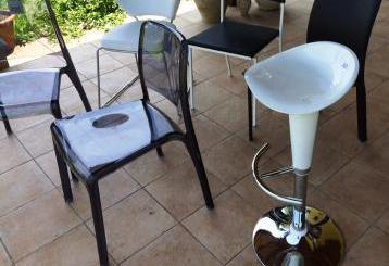 Diverse sedie moderne