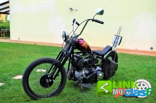 Harley-Davidson Replica Knucklehead Chopper benzina in vendita a Prato (Prato)