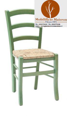 Sedie arredamento bar ristorante colorate verdi cod 3011cp