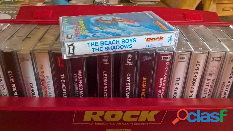 Collezione rock deagostini in musicassette