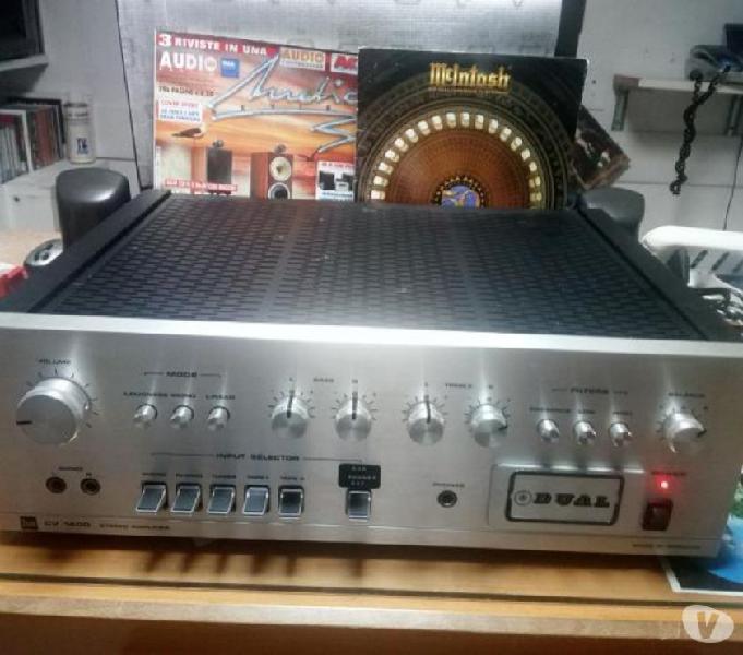 Amplificatore vintage dual cv1400